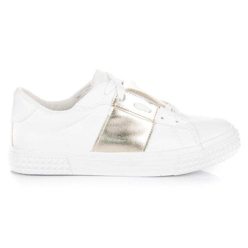 Hvid sport sneakers mode
