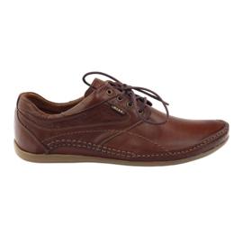 Brun Riko mænds casual sko 844