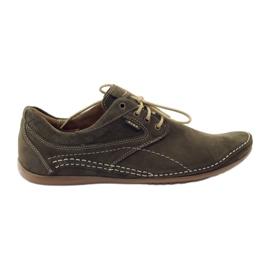 Grøn Riko mænds casual sko 844
