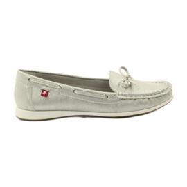 Big Star Kvinders loafers Big-Star 274326 sølv grå