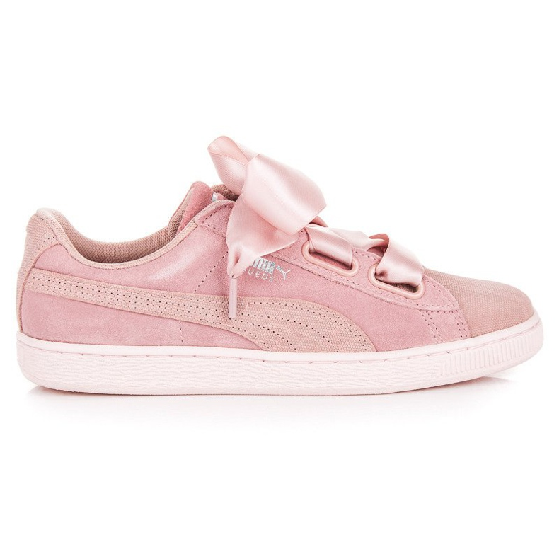 Puma Suede Heart Pebble WN`S pink