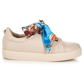 Sneakers bundet med VICES Ribbon brun