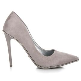 Seastar Moderigtigt Grey High Heels grå