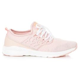 Ax Boxing Slip-on klud sko pink
