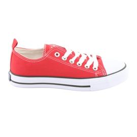 American Club røde sneakers