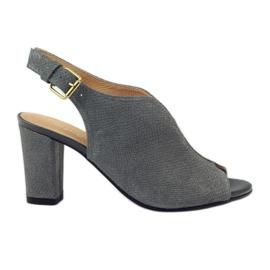 ESPINTO 248 grå cobra sandaler