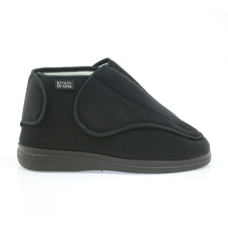 Befado kvinders sko pu orto 163D002 sort