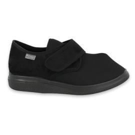 Sort Befado kvinders sko pu 036D006