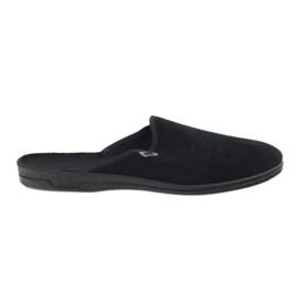 Sort Befado mænds sko pvc 715M009
