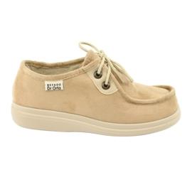 Befado kvinders sko pu 871D007 brun