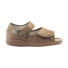 Befado kvinders sko pu 989D003 brun
