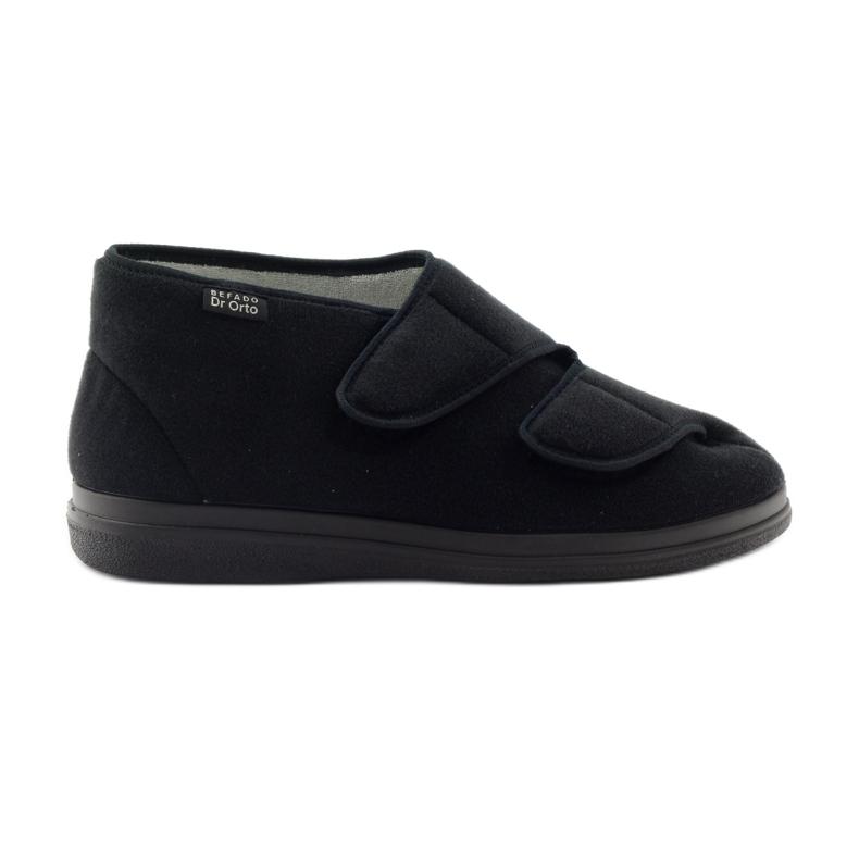Befado mænds sko pu 986M003 sort