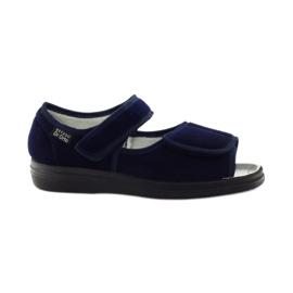 Navy Befado mænds sko pu 989M002