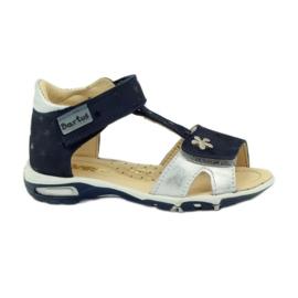 Velcro sandaler Bartuś 138 marineblå