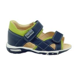 Velcro sandaler Bartuś 137 navy blå