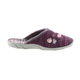 Befado farverige kvinders sko pu 235D152 lilla