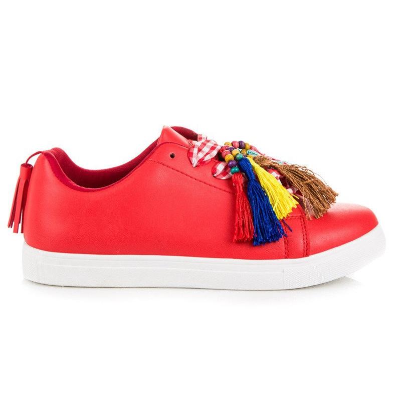 Moderigtige Red VICES sneakers rød