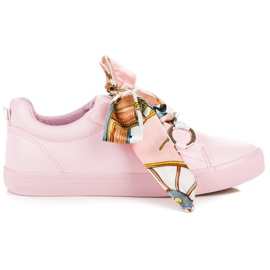 Pink Bundet Sneakers VICES