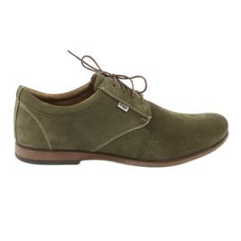 Grøn Riko mænds casual sko 777D
