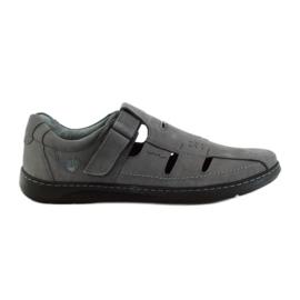 Grå Riko mænds sko sandaler 851
