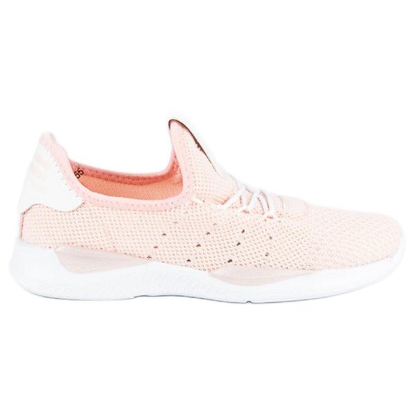 Pulverslip-on sneakers pink