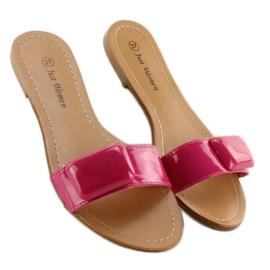 Flip-flops med bælte 8293-60 Fuchsia pink