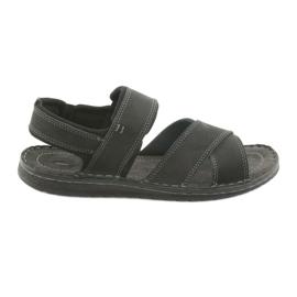 Sort Riko mænds sandaler 852 sportssko