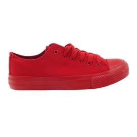 DK Sneakers bundet rødt