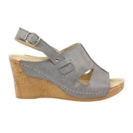 Grå Grey Gregors 533 Sandaler