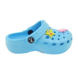 American Club Crocus flip-flops blå amerikanske
