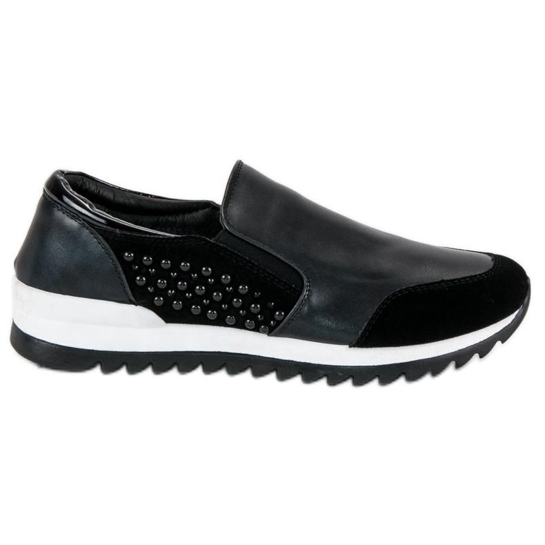Vinceza slip-on sneakers sort