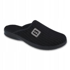 Sort Befado mænds sko pu 548M015