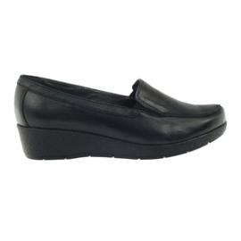 Angello 1720 moccasins sko sort