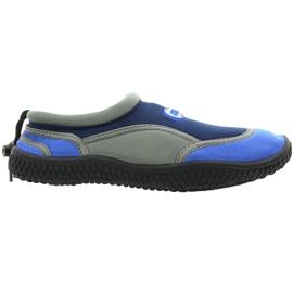 Aqua-Speed Jr. neopren strand sko navy-grå