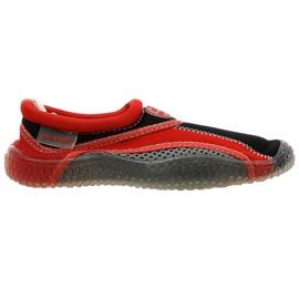 Aqua-Speed Jr. neopren strand sko rødgrå