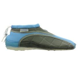Aqua-Speed Jr. neopren strand sko blå-grå