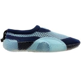 Neopren strand sko Aqua-Speed Jr blå