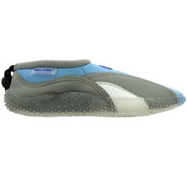 Aqua-Speed Jr. neopren strand sko grå