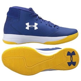 Basketballsko Under Armour Jet Mid M 3020224-500