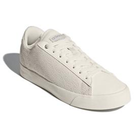 Hvid Adidas Sport Inspireret Cloudfoam Daily Qt Rene Sko I DB1738