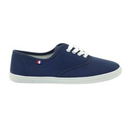 American Club Amerikanske damer sneakers sneakers navy