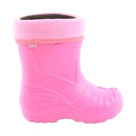 Pink Befado børns fodtøj kalosz- róż 162X101