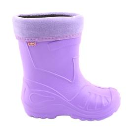 Lilla Befado børns fodtøj kalosz-violet 162X102