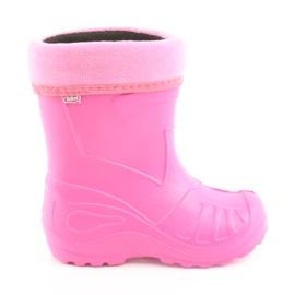 Pink Befado børns sko kalosz-róż 162Y101