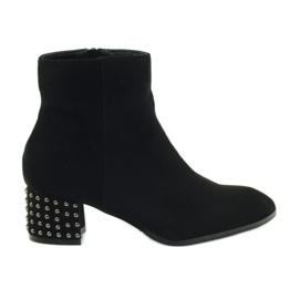 Vinter støvler Filippo 540 sort høje hæle