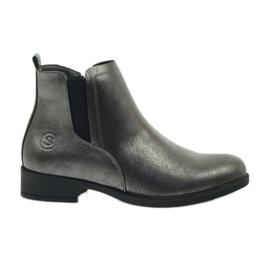 Antikke sølvstøvler Sergio Leone 553 grå