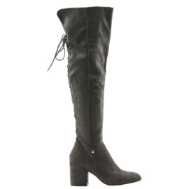 Højhælede grå støvler Big Star 274519