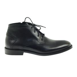 Støvler vinter støvler Badura 4663 sort