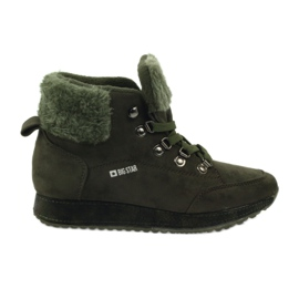 Big Star Sport komfortable støvler STOR STAR 274665 grøn