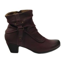 Støvler maroon super behagelig Aloeloe